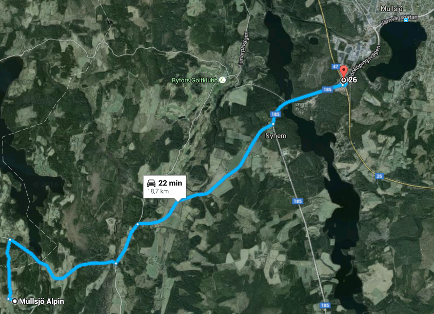 Jönköping-Mullsjö