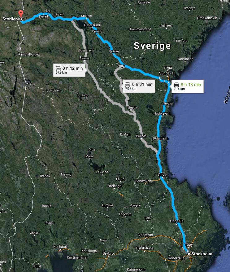 Stockholm-ÅreStorlien